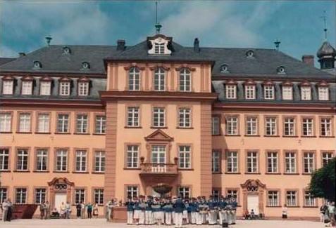 Schlosshof in Bad Berleburg