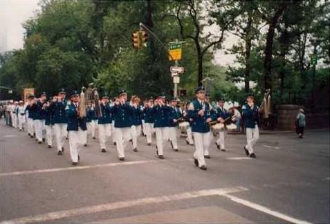 Bei der Steubenparade