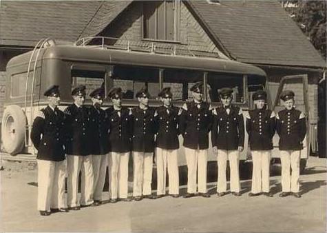 Abfahrt zum Wettstreit nach Grafschaft 1951
