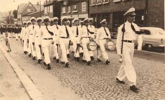 Ebenfalls beim Wettstreit 1954 in Winterberg