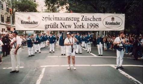 2. Steubenparade New York/ Rundreise Westküste USA 1998